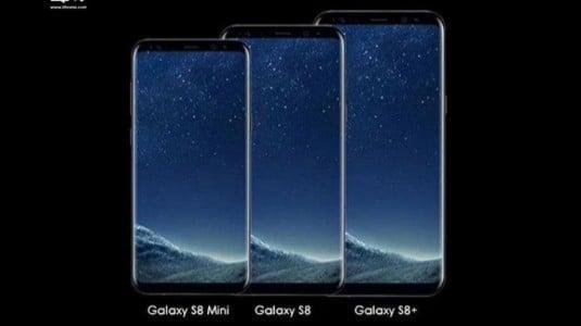 5.3 inç Ekranlı Samsung Galaxy S8 Mini Geliyor