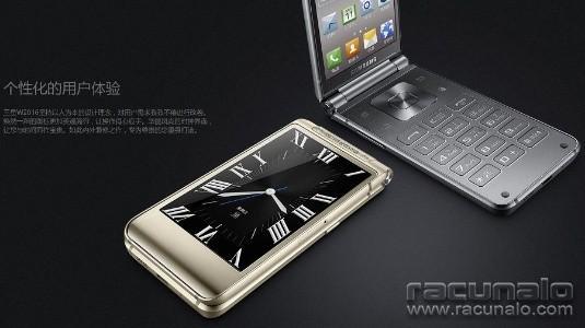 Samsung'un Üst Seviye Kapaklı Telefonu SM-W2018'in İlk Basın Görseli Sızdırıldı