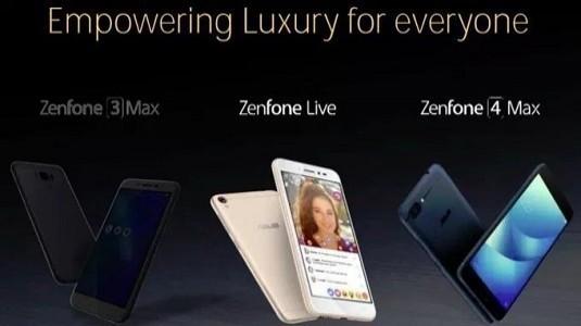 Asus Zenfone 4 Max Modeli 5.000mAh Pil İle Beraber Tanıtıldı