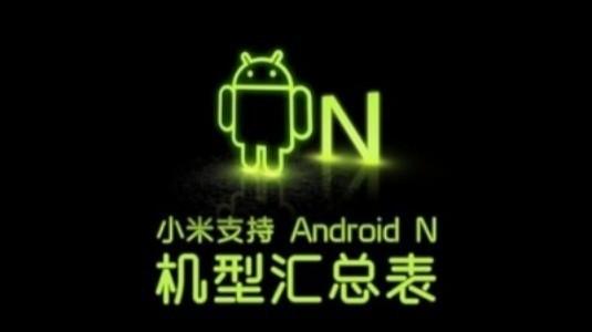 Xiaomi, Nougat Güncellemesi Alacak Cihazlarının Listesini Yayınladı