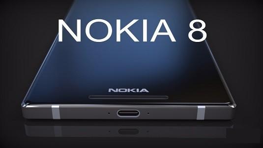 Nokia 8 Çerçevesiz Ekran Tasarımı İle Ortaya Çıktı