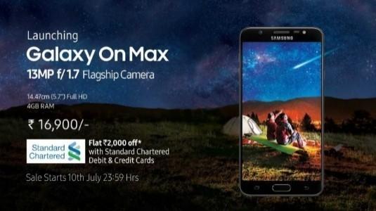 Samsung Galaxy On Max Resmi Olarak Duyuruldu