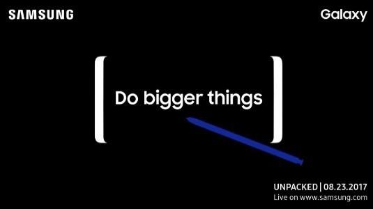 Samsung Galaxy Note 8'iin Midnight Black Rengi Sızdırıldı