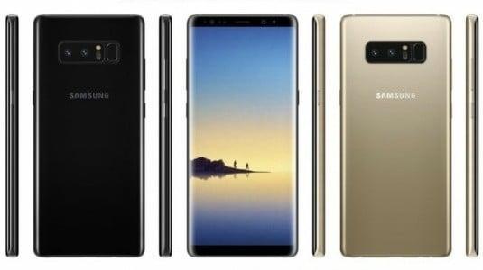 Samsung Galaxy Note8 Ön Siparişleri 1 Eylül'de Başlayabilir