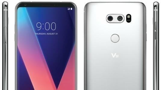 LG V30'un Basın Görseli Sızdırıldı