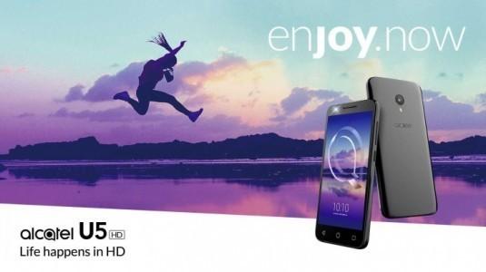 Alcatel U5 HD resmi olarak duyuruldu