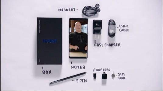 Samsung Galaxy Note8 Kutu Açma Videosu