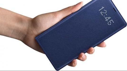 Galaxy Note 8'in kılıf modelleri ve aksesuarları tanıtıldı