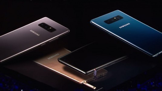 Samsung'ta hedef, yıl bitmeden 11 milyon Note 8 satmak