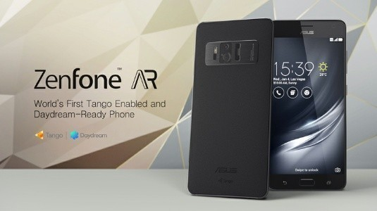Asus Zenfone AR için Ön Siparişler ABD'de Başladı