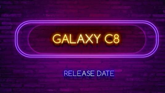 Samsung Galaxy C8 Modeli 7 Eylül'de Resmi Olarak Tanıtılabilir