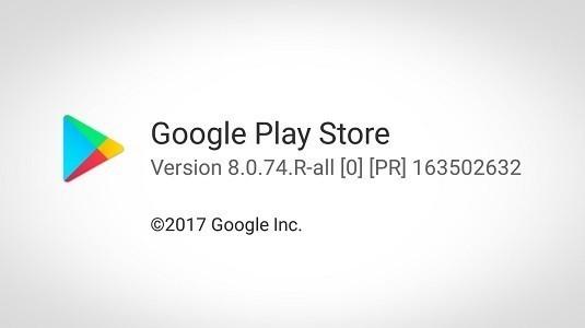 Google Play Store 8.1.25 Sürümü Yayınlandı