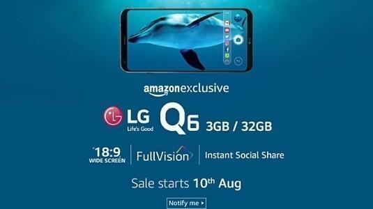 LG Q6 Hindistan Lansmanı Bu Hafta Yapılıyor