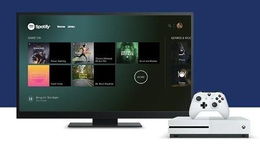 Xbox One için Spotify Uygulaması Yayınlandı