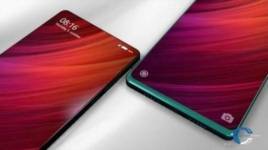 Xiaomi Mi Mix 2'nin Ön Paneli Sızdırıldı
