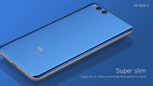 Xiaomi Mi Note 3, Çift Kamera ve Snapdragon 660 Yonga Seti ile Duyuruldu