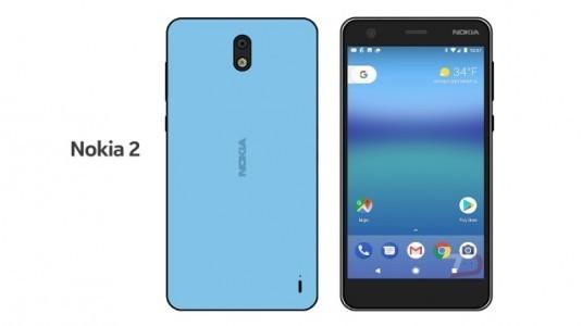 Nokia 2'nin bataryası, 4000 mAh kapasitesinde olacak