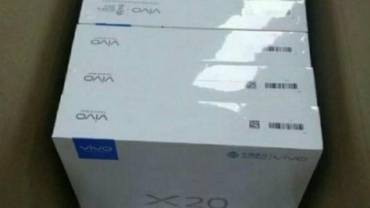 Sızdırılan Perakende Kutusu, Vivo X20'nin Önemli Özelliklerini Doğruladı