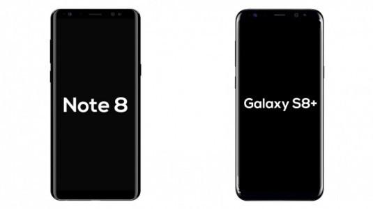 Şarj süresine önem verenler Galaxy S8+'i değil, Note 8'i tercih etmeli