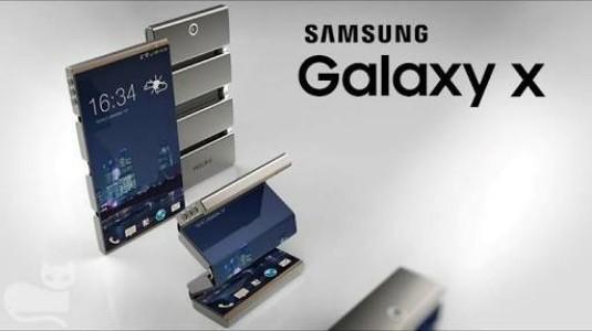 Samsung Katlanabilir Telefonu Galaxy X, Piyasaya Sunulmaya Hazırlanıyor