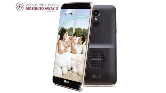 LG'den ilginç teknoloji! Sivrisinek savar cep telefonu