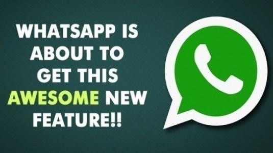 WhatsApp, Heyecan Verici Yeni Özelliğine Kavuştu