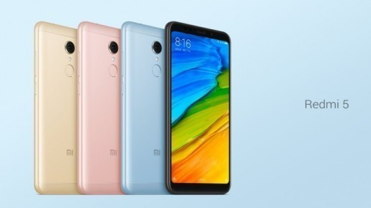 Xiaomi Redmi 5'in satışları küresel pazarda başlayacak