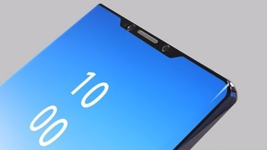 Samsung Note 9'da çentikli ekran kullanılabilir