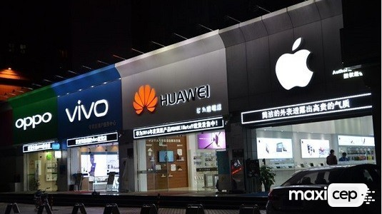 2017 Yılında Çin'deki Telefon Satışları %4 Oranında Düştü