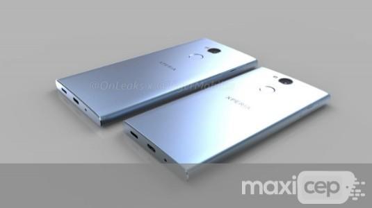 Sony Xperia XA2 ve XA2 Ultra'nın CAD Tabanlı Görüntüleri Sızdırıldı
