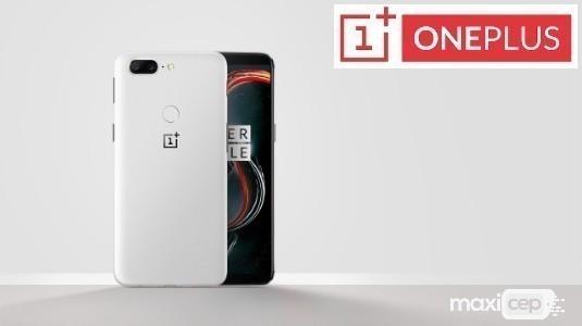 Kumtaşı Beyaz Renkli OnePlus 5T Resmi Olarak Duyuruldu, Satışlar 9 Ocak'ta Başlıyor