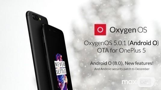 OnePlus 5 İçin OxygenOS 5.0.1 Güncellemesi Yayınlandı