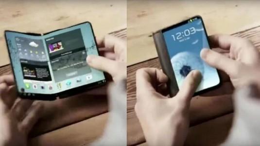 Samsung, yıl sonunda ilk katlanabilir telefonunu duyurdu