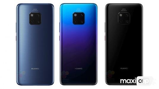Huawei Mate 20 Pro ile Mate 20'ninfiyatı gün yüzüne çıktı