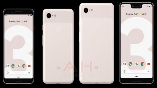 Google Pixel 3 serisinin kum rengi de sızdırıldı
