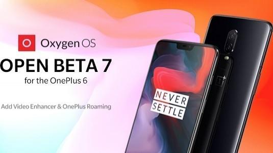 OnePlus 6 İçin Open Beta 7 Güncellemesi Dağıtıldı