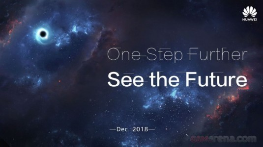 Huawei'nin Infinity-O Ekrana Rakip Olacak Tasarımı, Tanıtım Afişi Üzerinden Ortaya Çıktı