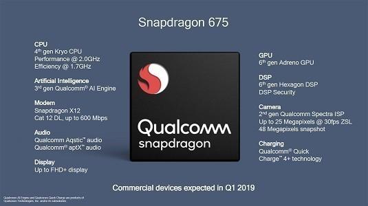 Qualcomm Snapdragon 675'in Geekbench Puanı Belli Oldu