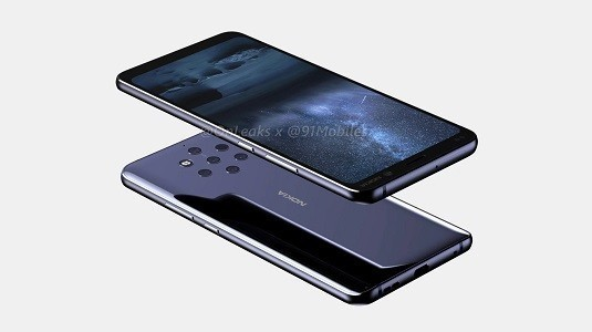 Beş Kameralı Nokia 9 PureView Modelinin Render Görüntüleri Ortaya Çıktı