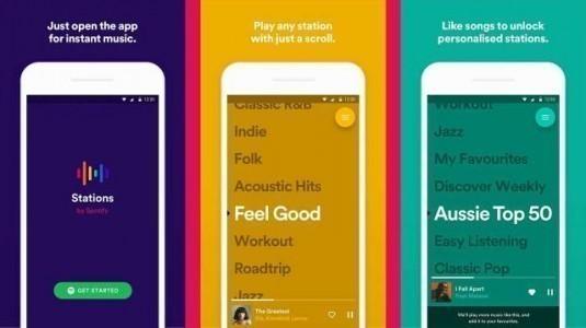 Stations by Spotify uygulama mağazalarında yerini aldı