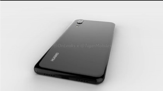 Huawei P20'nin 3D Render Görüntüleri İnternete Sızdırıldı