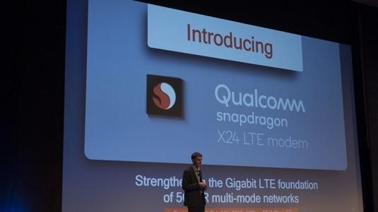 Qualcomm, 2Gbps Hıza Ulaşabilen X24 Modemini Duyurdu