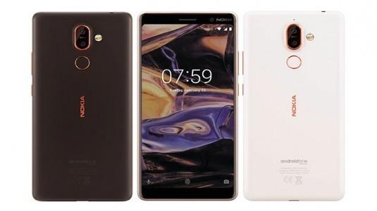 Nokia 7 Plus siyah renk seçeceğiyle karşımızda
