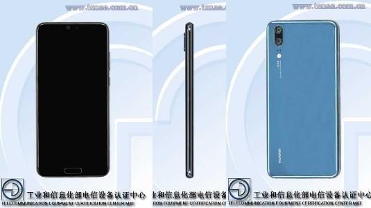 Huawei P20, Çift Kamerası ile TENAA'da Göründü