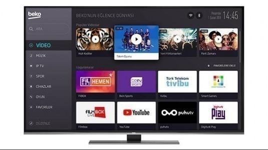Beko'dan kumanda alışkanlığına son veren akıllı TV