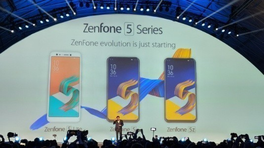 Asus Zenfone 5 Lite, Zenfone 5 ve Zenfone 5z Duyuruldu