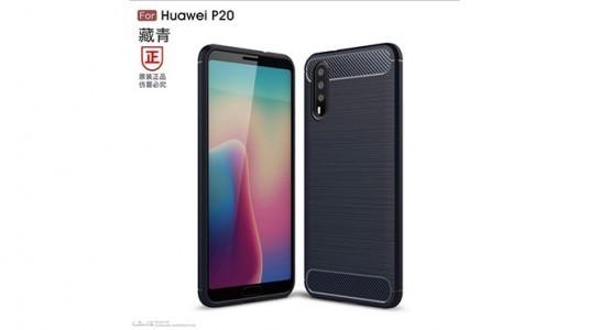 Huawei P20'ye ait taslak çizimler yayınlandı