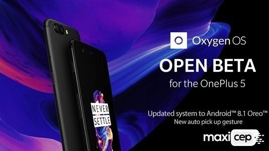 OnePlus 5 Android 8.1 Open Beta 6 Güncellemesi Çıktı