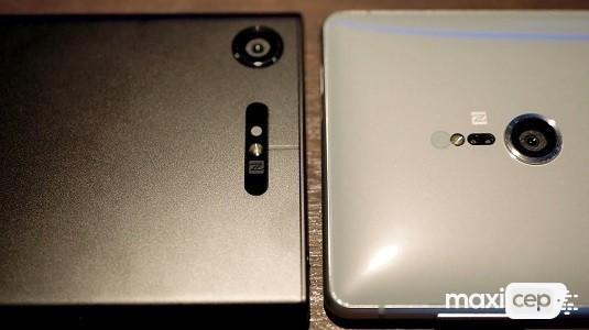 Sony Xperia XZ2 ve Sony Xperia XZ1 Arayüz Karşılaştırması