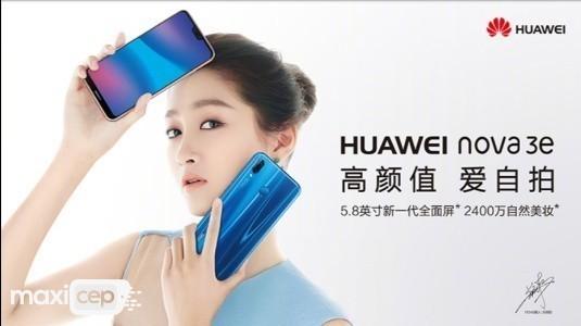 Huawei Nova 3e Resmi Olarak Duyuruldu